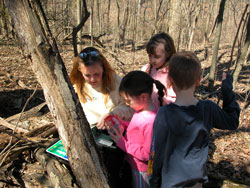 Geocaching in Dunes State Park