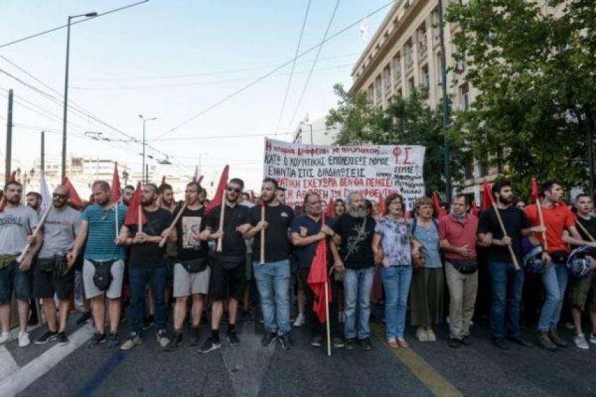 , Ξανά στον δρόμο κατά του χουντονόμου για τις διαδηλώσεις (βίντεο – φωτογραφίες), INDEPENDENTNEWS