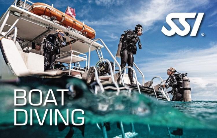 Boot Duiken Boat Diving specialty SSI