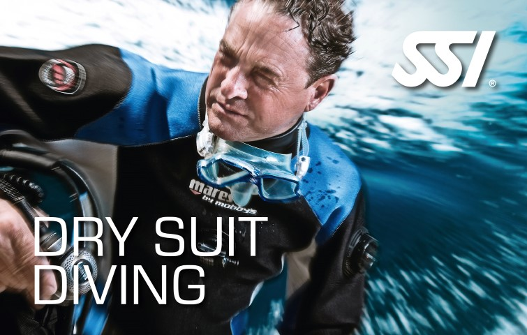 droogpak duiken dry suit diving specialty SSI