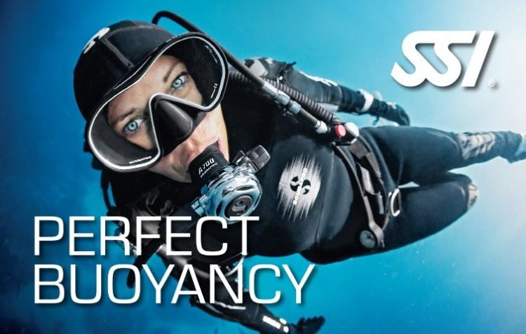 Perfect buoyancy brevet ssi