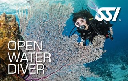 SSI Open Water Diver brevet opleiding oud