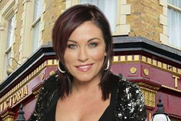 EastEnders suspend Jessie Wallace