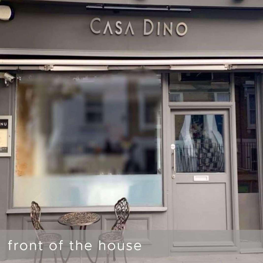 Italian restaurant chiswick