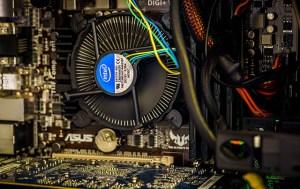 Számítógép processzor hűtőventilátor