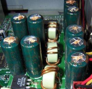 Számítógép rossz kondenzátor