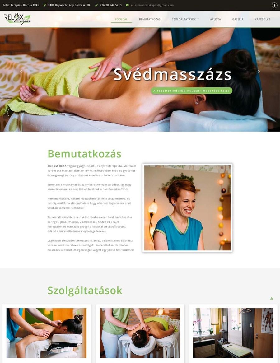 Relax Terápia Masszázs Stúdió