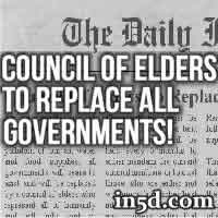 Council Of Elders To Replace All Governments