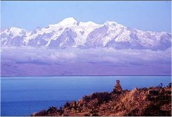 2. Sacral chakra: Lake Titicaca, on the border of Bolivia and Peru
