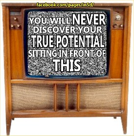 useless, mind-control crap on TV