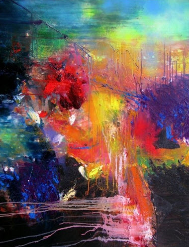 amazing abstract paintings by