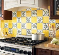 Colorful Kitchen Backsplash Pictures_32 at In Seven