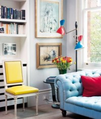 Colorful Apartment Decorating Ideas | The Flat Decoration