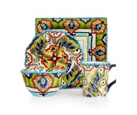 Colorful Dinnerware Sets Macys at In Seven Colors ...