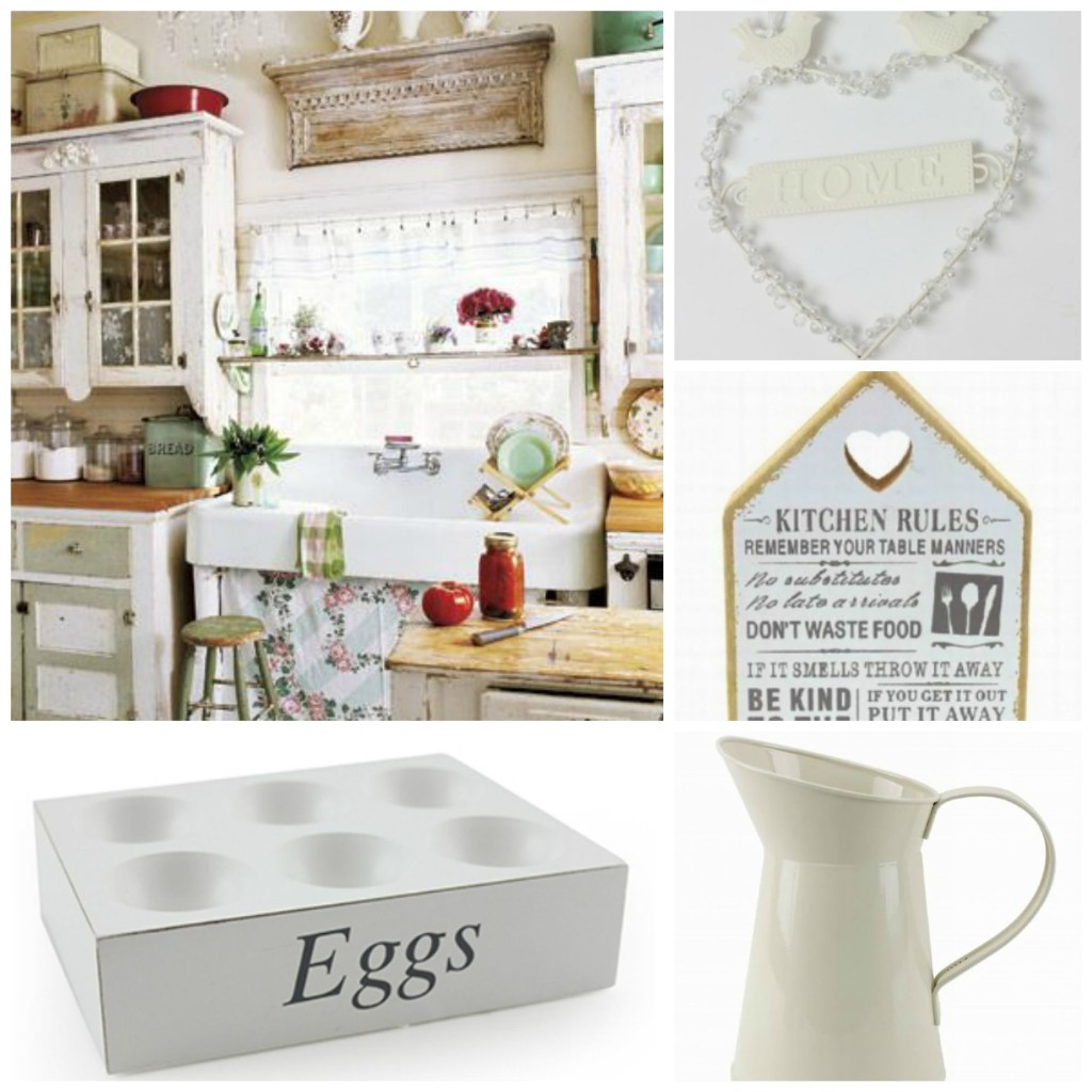 kitchen decor accessories remodeling williamsburg va shabby chic in a country cottage