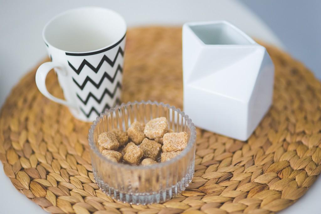 Umrechnung von Zucker von Cups auf Gramm