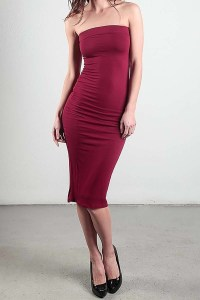 Smazy by Inance Body Con Fitted Dress
