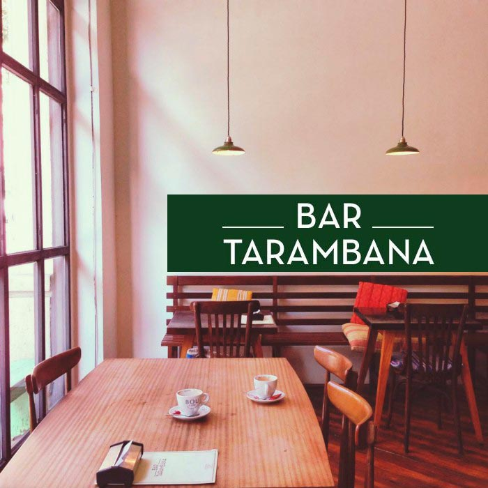 Bar Tarambana la cafetera vintage del Eixample  In