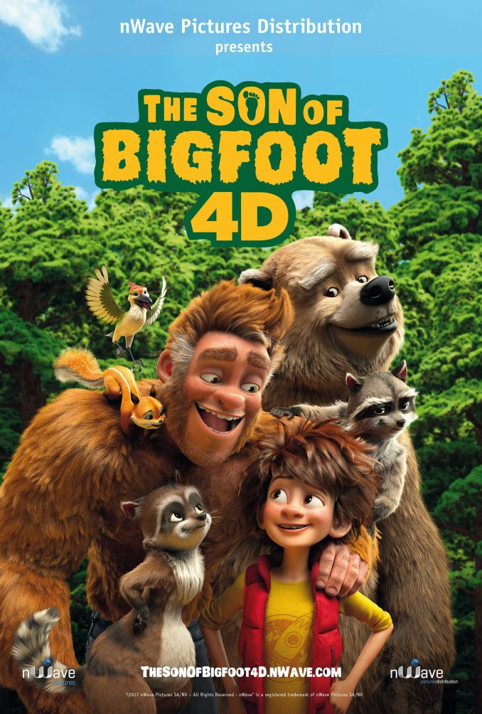 DOWNLOAD ANIMATION: Son of Bigfoot (2017)
