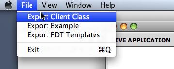 MonsterDebugger File->export