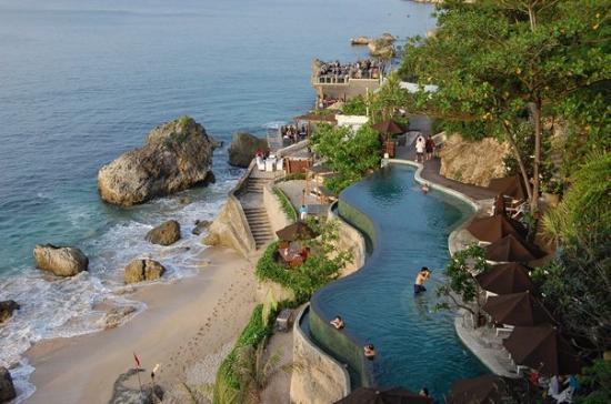 The paradise of Uluwatu via Pecatu.