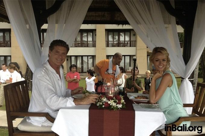 david hasselhoff restaurant bali