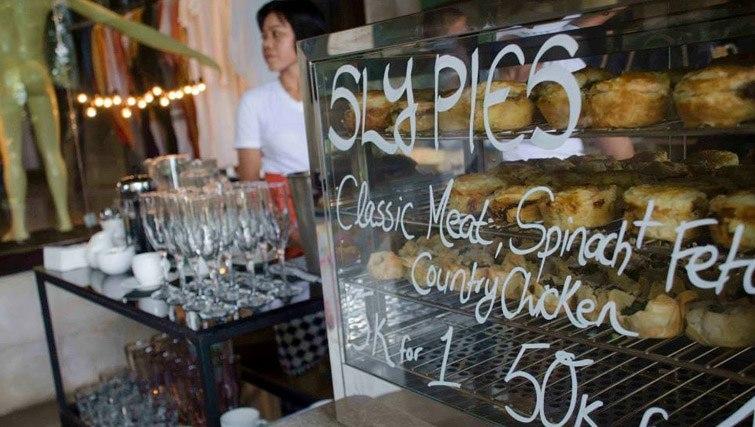 food shopping market Biasa+ Seminyak Bali