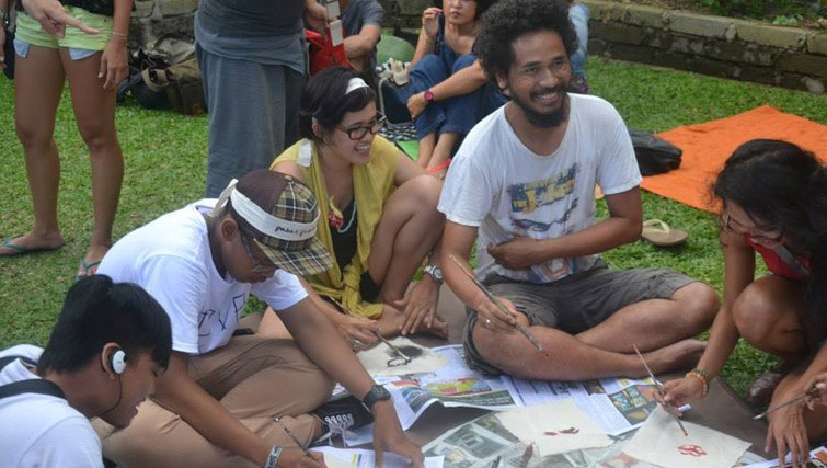 weekend art market pasar-pasaran Ubud