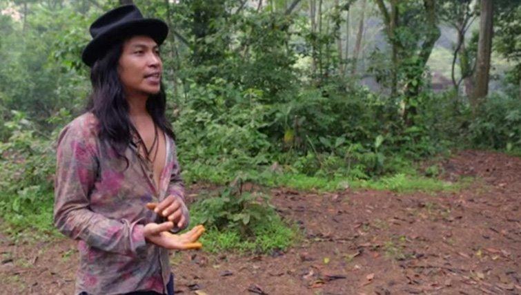 Musician and environmental activist, Robi Navicula.