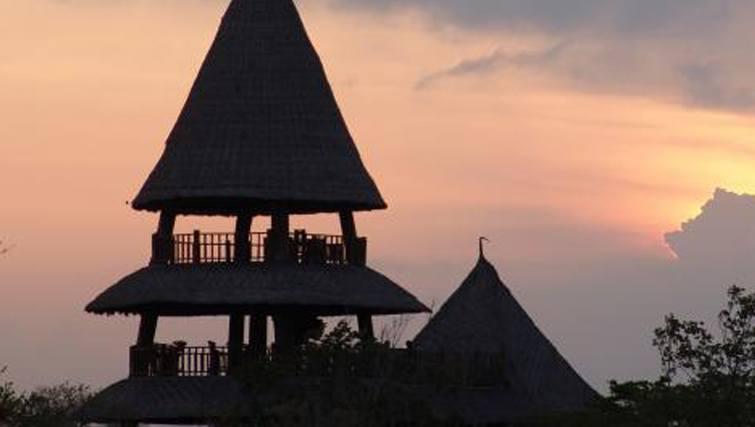 Bali Tower at Menjangan Retreat