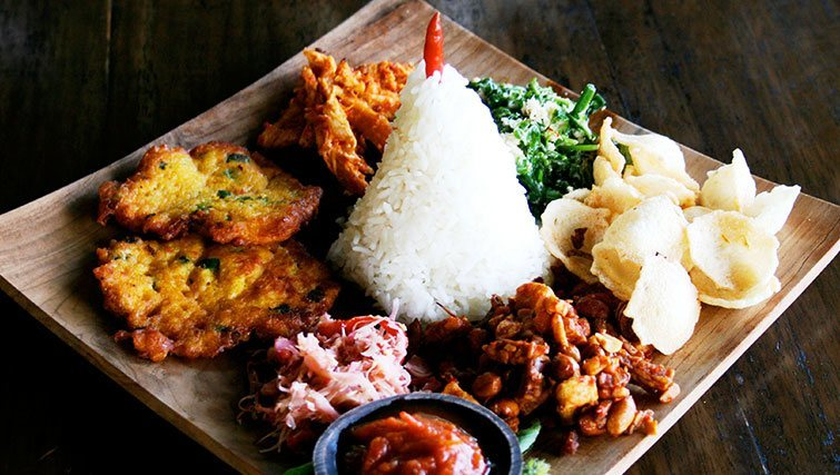 """Eco-Meals"" at Sarinbuana's restaurant"