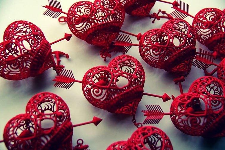 "Treats & charms ideas for Valentines Day. ""Til Death Do Us Part"". Artist Joshua Harker"