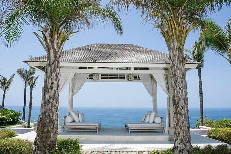 Semara Luxury Villa Resort, Uluwatu, views from the daybed
