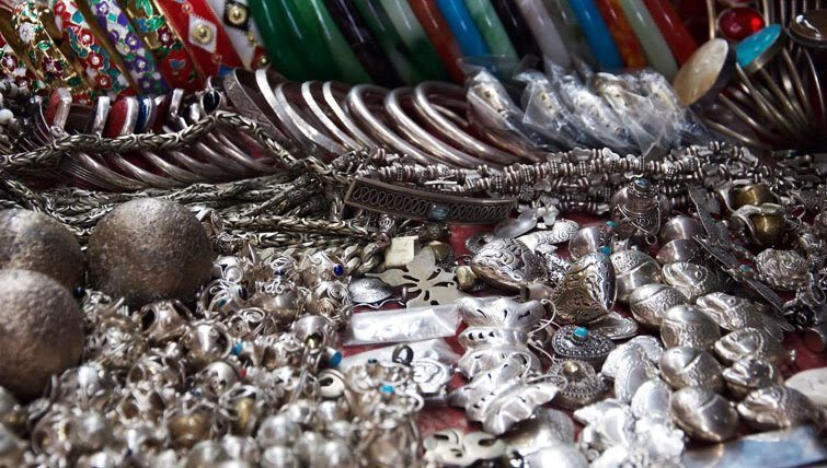 Balinese jewellery. Photo by Amanda Shadforth