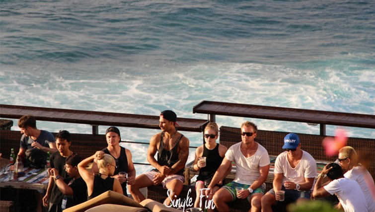 single Fin bar Blue Point Uluwatu