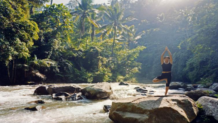 Yoga at Como Shambhala