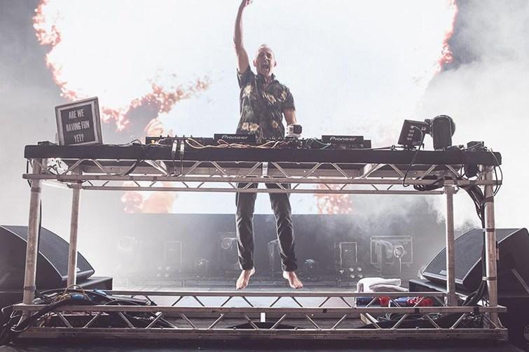 Fatboy Slim DJ act.
