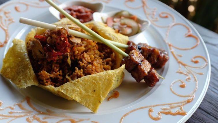 Balinese Nasi Goreng at BeingSattvaa