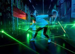 Spionagemuseum Laserparcours