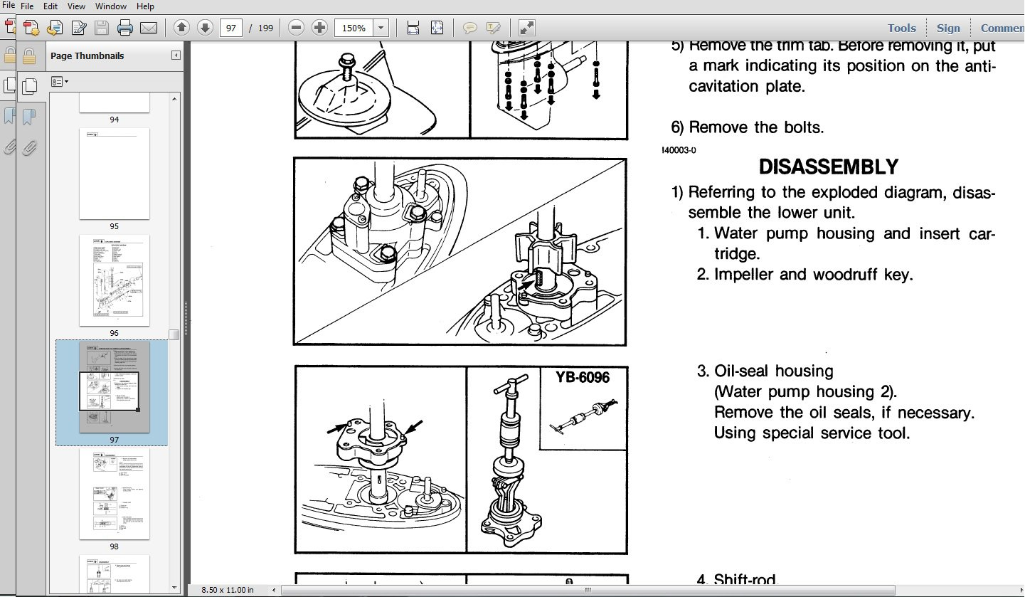 hight resolution of download yamaha outboard repair manual 1982 2014 mercury outboard wiring schematic diagram mercury outboard wiring harness