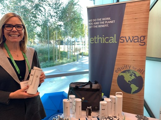 Ethical Swag CEO Tara Milburn