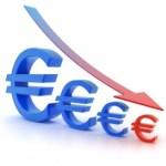 Euro decline