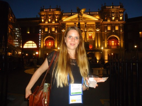 Nora Baumann, who works in customer service and product management, USA, for the German tour operator, Tour Consult International, seems to prefer a night at the operator to the rock beats heard throughout the Universal Studios part.