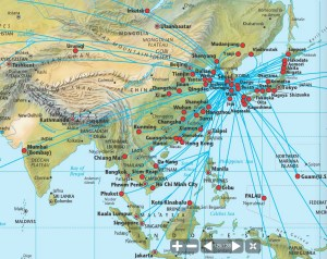 China Air Routes