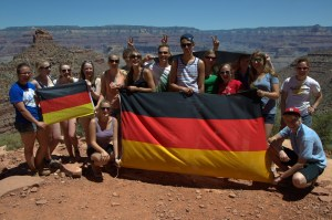 German tour group