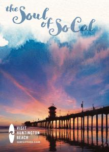 "Vistit Huntington Beach has unveiled a new marketing platform calling ""the Soul of SoCal."" It will be introduced to visitors and tourists during the year in a variety of media."