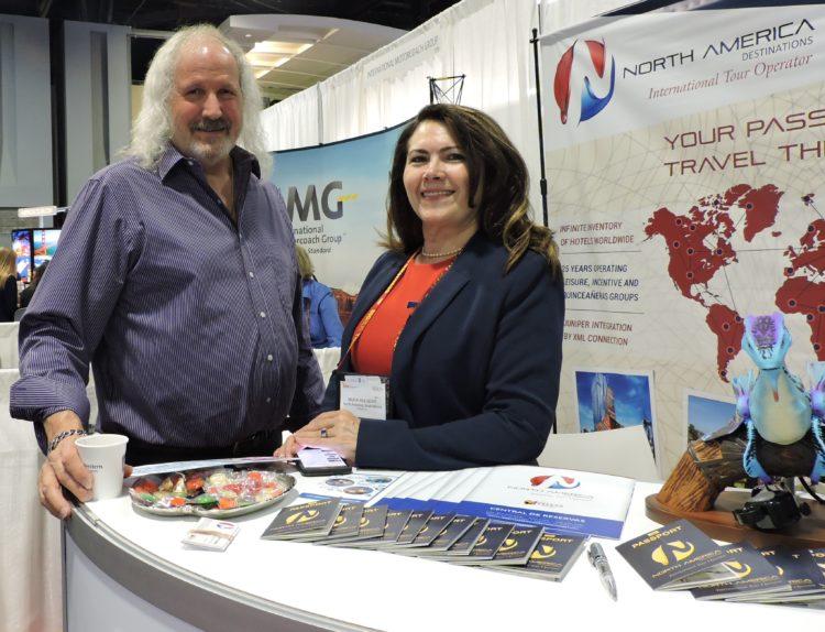 John Hulsewe, CEO, North America Destinations; and Maria Hulsewe, president, North America Destinations.