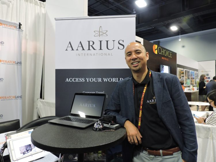 Julius Valino, chief operating officers, AArius International.