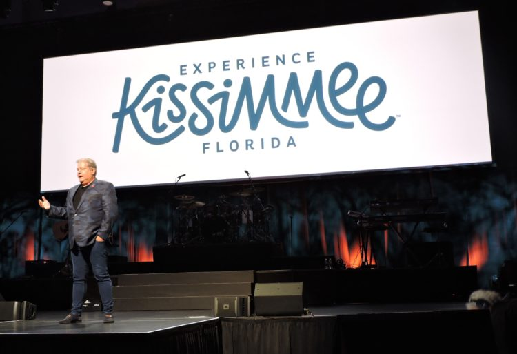 "D.T. Minich, president and CEO of Experience Kissimmee, Wednesday's luncheon sponsor, talks about developments that have made the destination, the ""Vacation Capital of the World."""