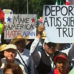 Anti Trump Demonstration